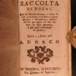 1698 Cardinal Mazarin Epilogue of Political Dogma Italian Catholic Church 2in1