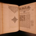 1581 Guichard Native American Funerals & Burial RITES Greek Roman Illustrated