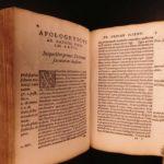 1542 Girolamo Savonarola Compendium of Italian Philosophy Prophecy Fortune Logic