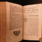 1663 French Memoirs King Henry III Catherine Medici Louyse Lorraine France WARS