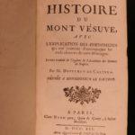 1741 Mount Vesuvius Serao Castera Volcanoes Volcanology Vesuvio Naples