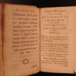 1756 Aphorisms of Hippocrates Medicine Health Cure SECRETS Greek & Latin Surgery