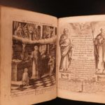 1651 1st ed Paintings of the Cross Illustrated Catholic Exquisite FINE BINDING