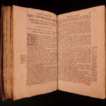 1673 Dutch Hazart Church History JESUIT Missions  TORTURE Martyrs America Africa