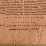 1558 Valerius Maximus Dictorum et Factorum Tiberius Greek ROME Philosophy Badius