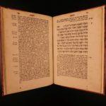 1539 1ed Rob Estienne HEBREW OT Bible Habakkuk Jewish Kimchi Commentary Judaica