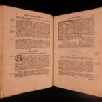 1765 Swiss Bassler Chronicle Switzerland Galileo Copernicus BASEL Wurstisen