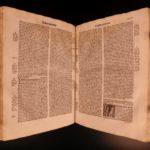 1519 EXQUISITE Durand Rationale Divinorum Medieval Church Liturgy Ceremonies