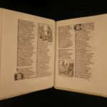 1878 Romance of the Rose Guillaume de Lorris Medieval French Poetry Woodcuts