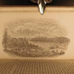 1857 Great Lakes of North America Niagara Falls MAP Disturnel Toronto Canada