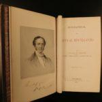 1865 Works of William Prescott MEXICO Spain Ferdinand Isabella Inca PERU 15v SET