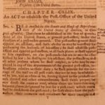 1799 5th Congress LAWS Marines Cherokee Indians President John Adams Powers