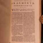 1667 Cornelius Nepos Lives ROME Roman Lawyers Philosophy Rhetoric Hackiana