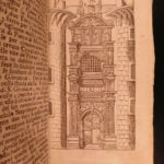 1713 Travel Guide to NAPLES Italy Illustrated NAPOLI Cathedrals Italian Sarnelli