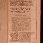 1629 1st English ed Thucydides Peloponnesian War Thomas Hobbes Greek Philosophy