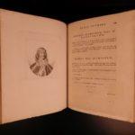 1798 Works of Horace Walpole Noble Authors Castle of Otranto LETTERS Richard III