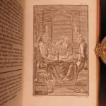 1761 Praise of Folly Erasmus of Rotterdam Protestant Reform Illustrated Humanism