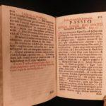 1771 Catholic Missal SARDINIA Campidano Italy Pope Urban VIII Holy Week Breviary