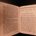 1699 Contes & Fables of Jean de Fontaine French Literature Aesop Phaedrus Brunel