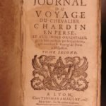 1687 1st ed Travels of John Chardin in PERSIA Middle East Iraq Turkey MAPS