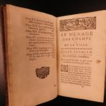 1729 Cookbook Wine Making Liquor Baking French Cuisine Bourgeois Deserts Liger