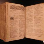 1582 French BIBLE Catholic Calvinist Benoit Huguenot & Henry IV friend 2v SET