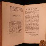 1687 Defense of Jesuit Missionaries in CHINA Japan India Asia Tellier Catholic