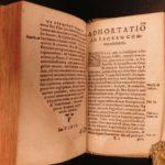 1581 Spanish Inquisition & Loyola Confessor Manual Juan Polanco Spanish JESUIT