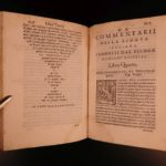 1581 1st ed Ruscelli Commentary on Italian Language Rhetoric & Grammar ITALY