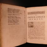 1749 Roman Empresses by Serviez ROME Caesar Wives Agrippina Faustina Poppea 3v