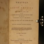 1839 1ed Travels in North America Native Americans Pawnee INDIANS Cuba Murray