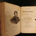 1830 Napoleon Bonaparte Exile Memorial to Saint Helena French Revolution Cases