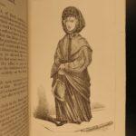 1869 1ed Bizarre Characters Illustrated Transvestites Pig-Faced Women Freaks