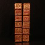 1701 Works of PLATO French Dacier Greek Philosophy Metaphysics Dialogues 2v SET