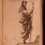 1664 Holy Land Palestine Illustrated Nineveh MAPS Sultans Costumes ISLAM Roger
