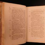 1794 EARLY American Biography Belknap Columbus Soto Cortez Magellan Puritans 2v