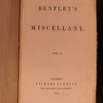 1837 1ed Charles Dickens Oliver Twist in Bentley's Miscellany English Literature