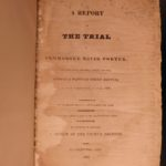 1825 1ed Trial of David Porter America NAVY War of 1812 PIRATES Beale Washington