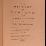 1770 David Hume History of England Scottish Enlightenment William Wallace 8v