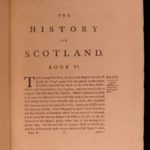1771 History of Scotland Scottish William Robertson Britain England Portraits 2v