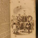 1844 1st/1st Martin Chuzzlewit Charles Dickens English Lit Satire Illustrated