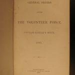 1862 Volunteer Force Militia CIVIL WAR Military Regulations Slaves Black America