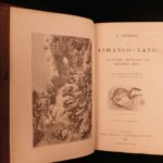 1867 AFRICA Ashango-Land Apingi Kingdom Du Chaillu Sahara Gorillas Pygmy Voyages