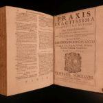 1668 Gavanti of Milan Thesaurus Sacrorum Rituum Catholic Mystical Rituals Rites
