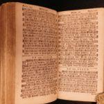 1777 RARE Dutch Book of Psalms Bible Songbook Music Catechisms Bijbel Amsterdam