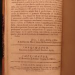 1758 Tobacco Cultivation in America Smoking Caribbean Botany Capuchin Eusebio