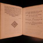 1593 1st ed SPARTA De Republica Lacedaemoniorum Spartan GREEK Rome Danish Krag