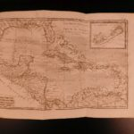 1780 ATLAS 50 Bonne MAPS Raynal Philosophical History of Indies South America