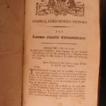 1798 British Navy Triumphant London Gazette Revolution Nelson Howe Jervis Duncan
