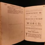 1693 RARE John Ray Physico-Theological Biblical Geology Creation Earth Science